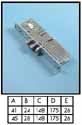 Aluminium & Glass locks - Adams Rite 4751