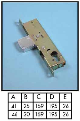 Mortise locks - Adams Rite (euro)