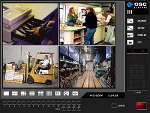CCTV - OSC 9600 Series 4 Channel